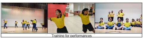 Dance - Training for performances