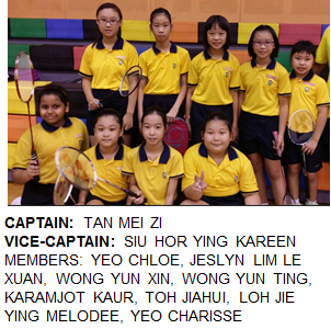 2017 JUNIOR GIRLS Members